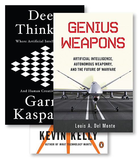 Capabilities capstone image with book covers above the title