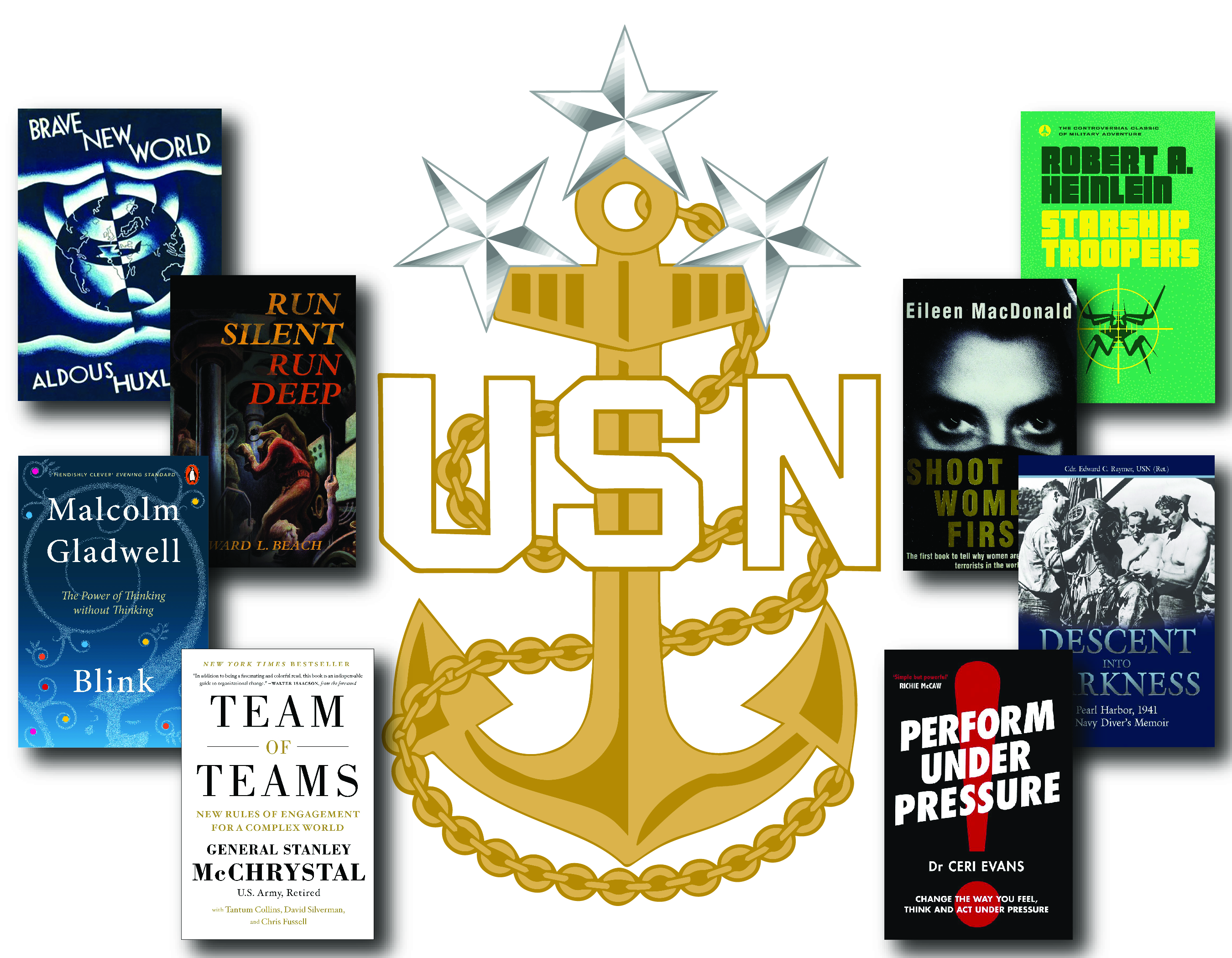 MCPON suggestion of book reading covers